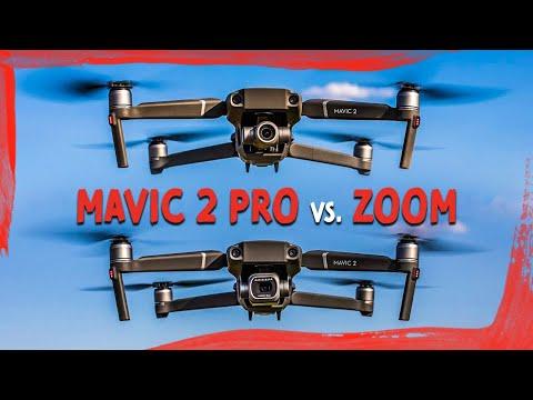 Mavic 2 Pro en Zoom: de verschillen