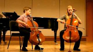 Cello Duet--If You Could Hie To Kolob