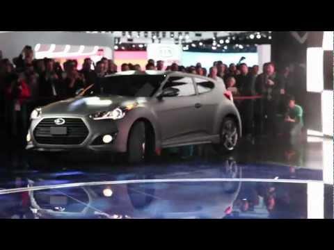 2013 Hyundai Veloster Turbo - 2012 Detroit Autoshow