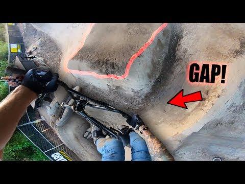 BIG BMX GAPS AT WOODWARD!! (+ SKATEPARK POV)
