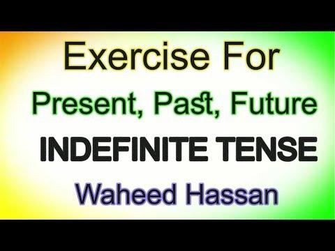 English tenses in Urdu video Present Past Future Indefinite