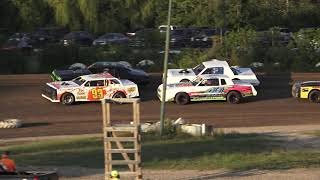 Hobby Stock Heat Race #1 At Mount Pleasant Speedway On 08-07-2020!