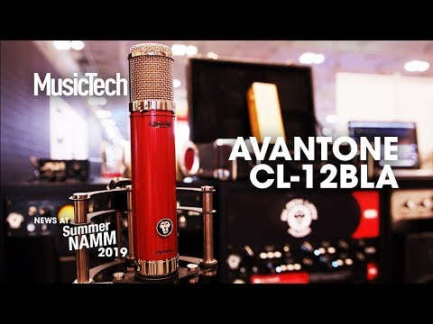 A C12 for only $699? Meet the Avantone CV-12BLA #SummerNAMM2019