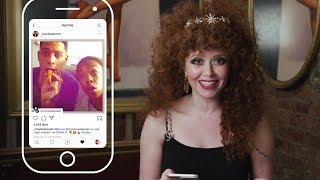 Natasha Lyonne Insta-Stalks Her Russian Doll and OITNB Castmates   ELLE