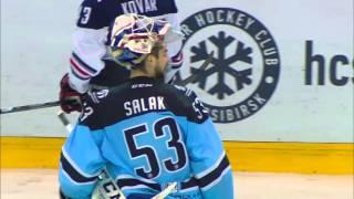 Mozyakin scores GWG as Sibir rebelling against Ref