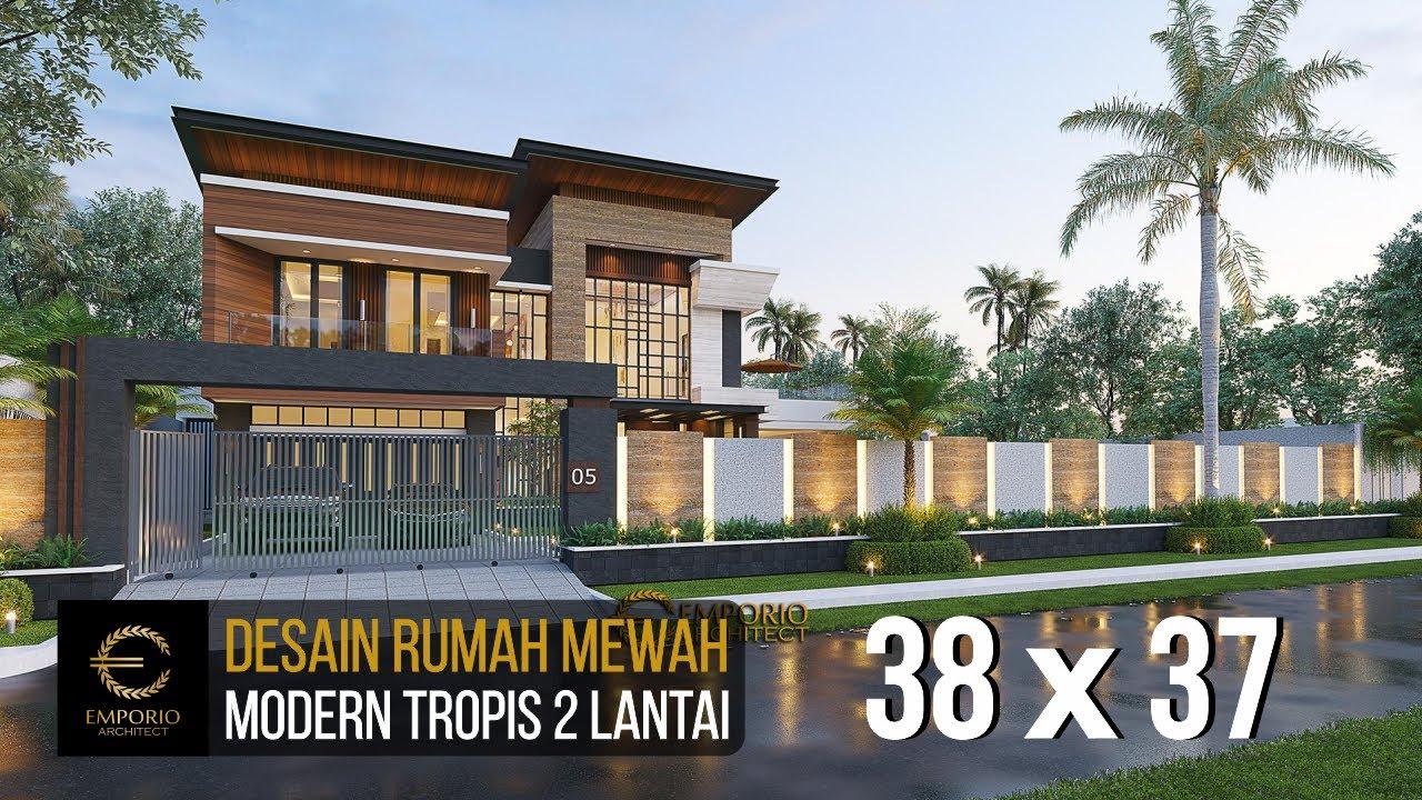 Video 3D Mr. Eruwin Modern House 2 Floors Design - Tanjung Pinang, Kepulauan Riau