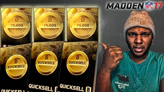 15X QUICKSELL PACK OPENING! QUICKSELL MANIA IS BACK! MUT 17 PACK OPENING | Madden 17 Ultimate Team