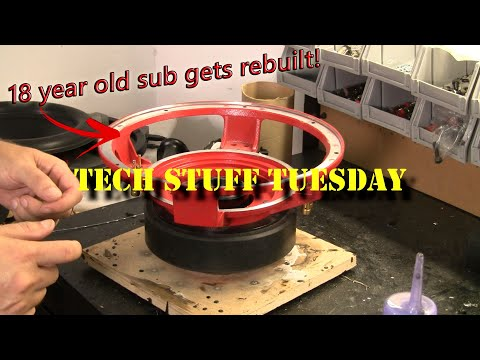 How I rebuilt an 18 year old Orion HCCA subwoofer - Tech Stuff Tuesday