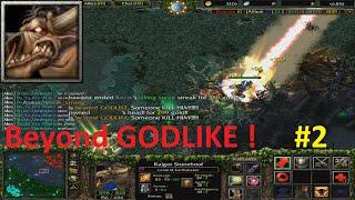 DotA 6.83d - Earthshaker Beyond GODLIKE ! #2