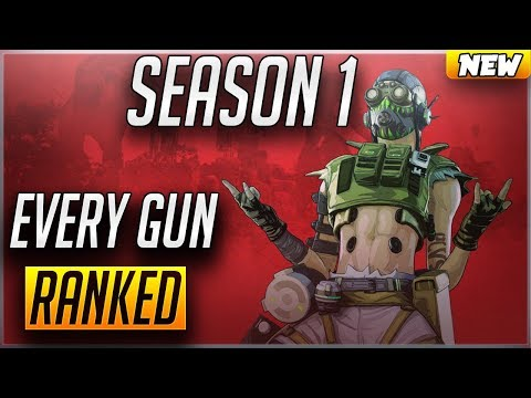 BEST Guns to use in Apex Legends | Season 1 Gun Tier List