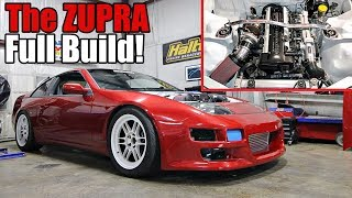 Building a 2JZGTE Swapped 300ZX in 12 Minutes!