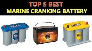 Best Marine Cranking Battery 2020