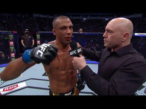 UFC 262: Edson Barboza Octagon Interview