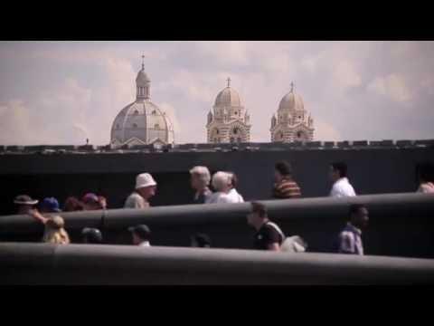 Musée Marseille : Flâneries sur le toit terrasse du MUCEM