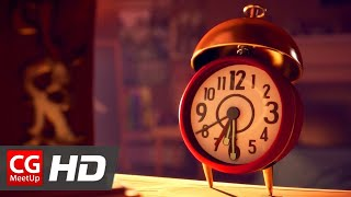 "CGI 3D Animated Short Film ""Clocky"" by ESMA 