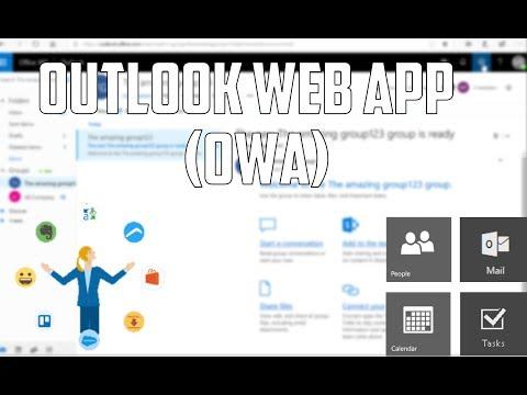 Office 365 Outlook Web App (OWA) Basics