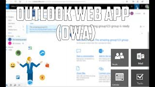 Office 365 Outlook Web App (OWA) Basics