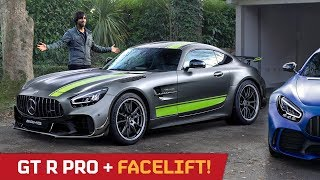 AMG GT R Pro & Facelift! First Look with Mr AMG