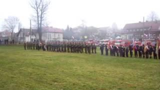 preview picture of video '8 listopada 2009 Jerzmanowice, salwa honorowa'