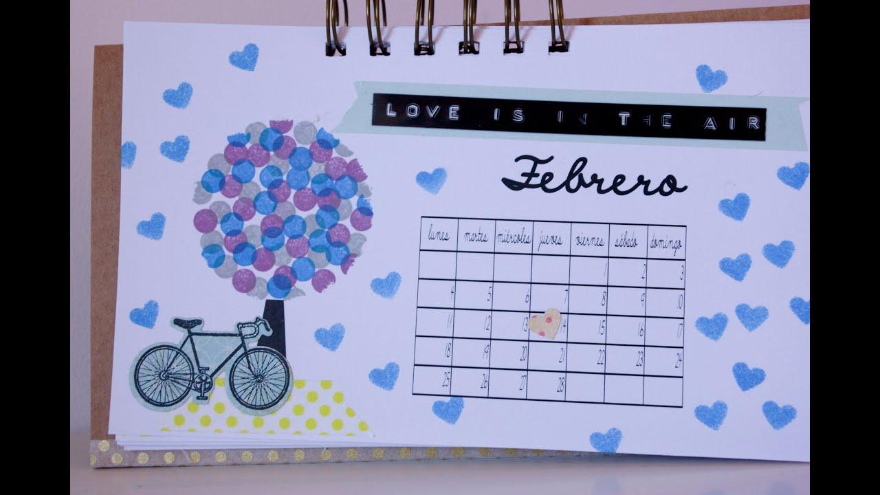 Calendario 2013 : Febrero