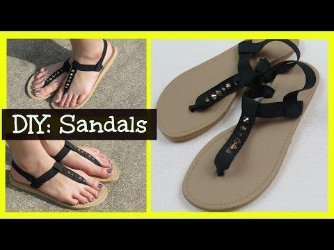 DIY: Sandals!