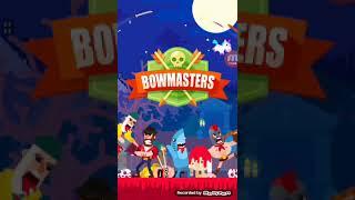 Играем в игру под названием Bowmasters вместе с Mr.Freddy
