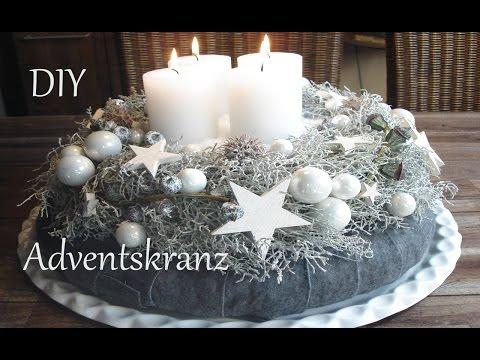 DIY | Adventskranz in weiß | Just Deko