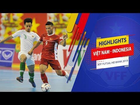 Highlights | Việt Nam - Indonesia | AFF HDBank Futsal Championship 2019