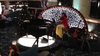 MSC Preziosa Centrum Live Music Violin and Piano