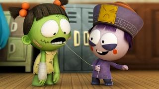Funny Animated Cartoon | Spookiz Season 1 - Wiggle Wiggle | 스푸키즈 | Cartoon for Kids