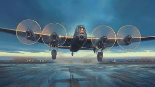 Timelapse Aviation Art | Avro Lancaster