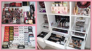 Organizing My Entire Makeup Collection! (So Satisfying!)