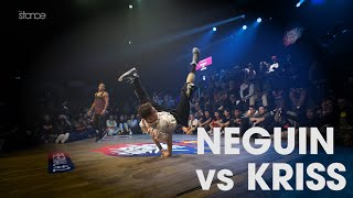 NEGUIN Vs KRISS // .stance // Red Bull DANCE YOUR STYLE WORLD FINALS 2019