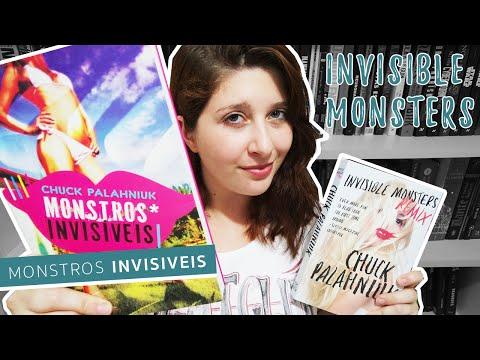 LEIA MONSTROS INVISIVEIS - Chuck Palahniuk (Invisible Monsters)   Pausa Para Um Café