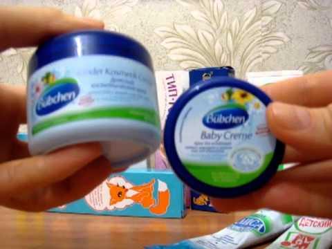 Детские крема (обзор)