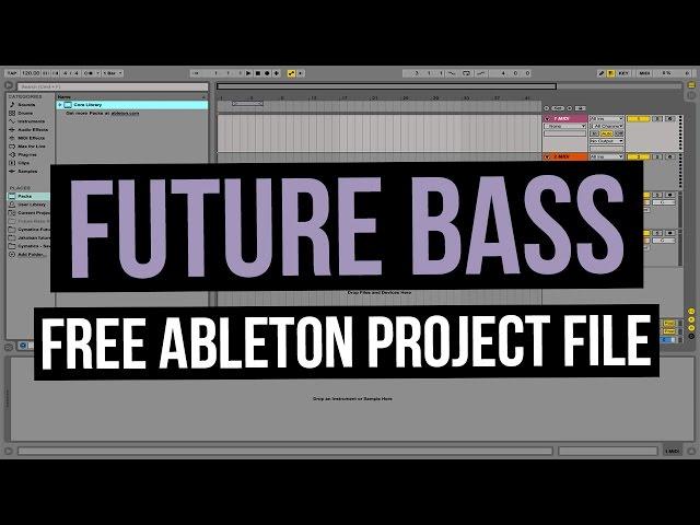 FREE Future Bass Ableton Project File