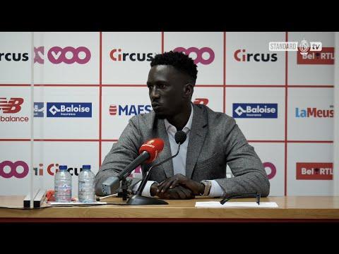 Mbaye Leye na Standard - KAA Gent (2-1)