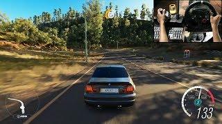 BMW M3 E46 - Forza Horizon 3 (Logitech g29) gameplay