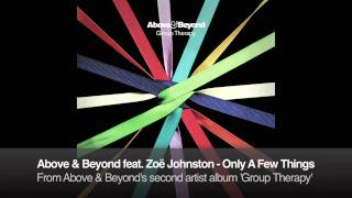 Above & Beyond feat. Zoë Johnston - Only A Few Things