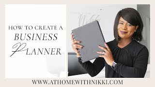 HOW TO CREATE A BUSINESS PLAN / PLANNER   ENTREPRENEURSHIP 101   SERIES TWO