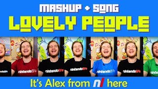 Lovely People (Song + Mashup) | Alex from Nintendo Life is the most synchronized man on earth