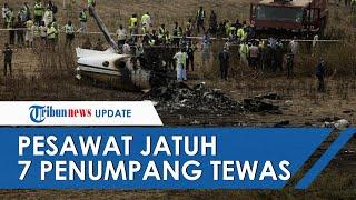 Kecelakaan Pesawat Militer Nigeria, Pilot Sempat Laporan Kerusakan dan Seluruh Penumpang Tewas