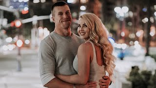 DUAL MILITARY COUPLE DATE NIGHT | Filmed My Dads Engagement Video | Gaslamp District