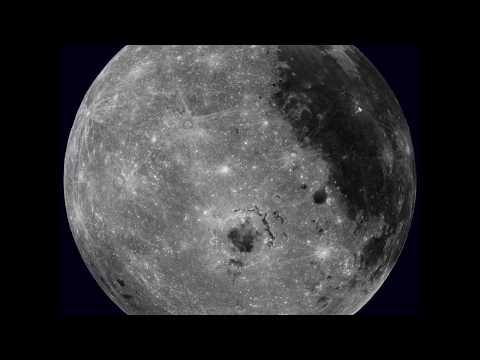 تصوير جودة عالية من وكالة ناسا لدوران القمر حول نفسه