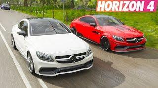 Mercedes C63 S Coupe İle Gazlama | Forza Horizon 4