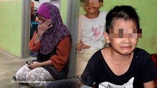 Kakak Beradik Cari Makanan Sisa di Tong Sampah Sekolah karena Tak Ada Uang, sang Ibu: Hatiku Hancur