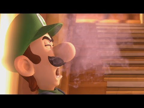 Exposing Luigi to asbestos in Luigi's Mansion 3