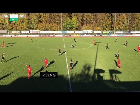 Gol | FREDDY MVENG | 14.10.2017 - Promotion League | FC Köniz 1 x 3 FC Sion