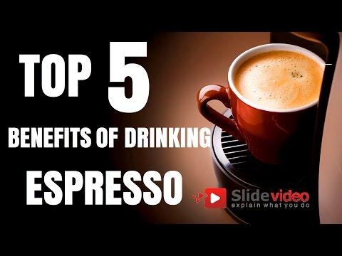 Top 5 Benefits of Drinking Espresso