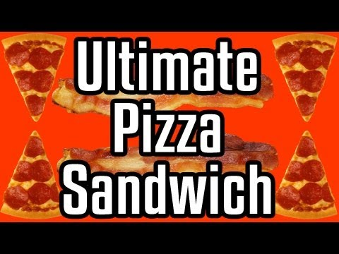 Ultimate Pizza Sandwich – Epic Meal Time